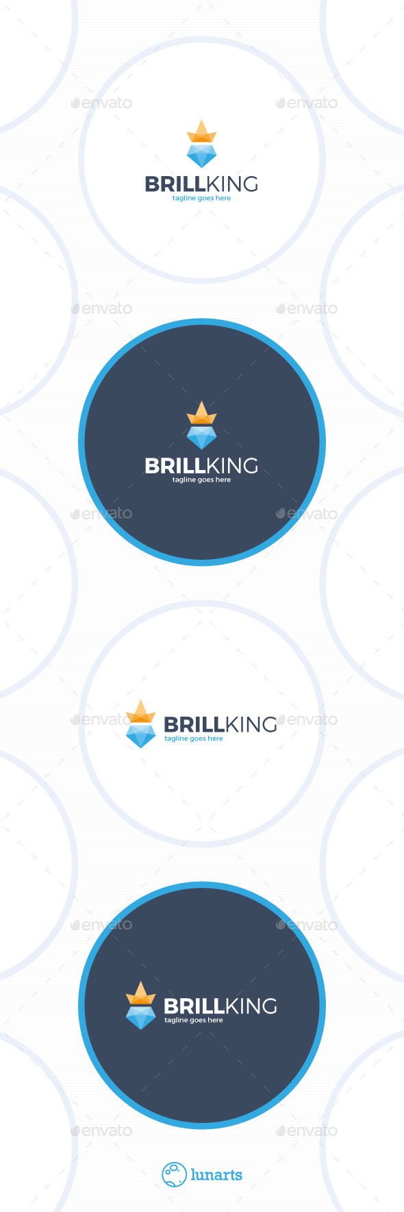 GraphicRiver Brilliant King Logo 11532861