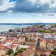 Lisbon rooftop from Sao Vicente de Fora church viewpoint  in Por - PhotoDune Item for Sale