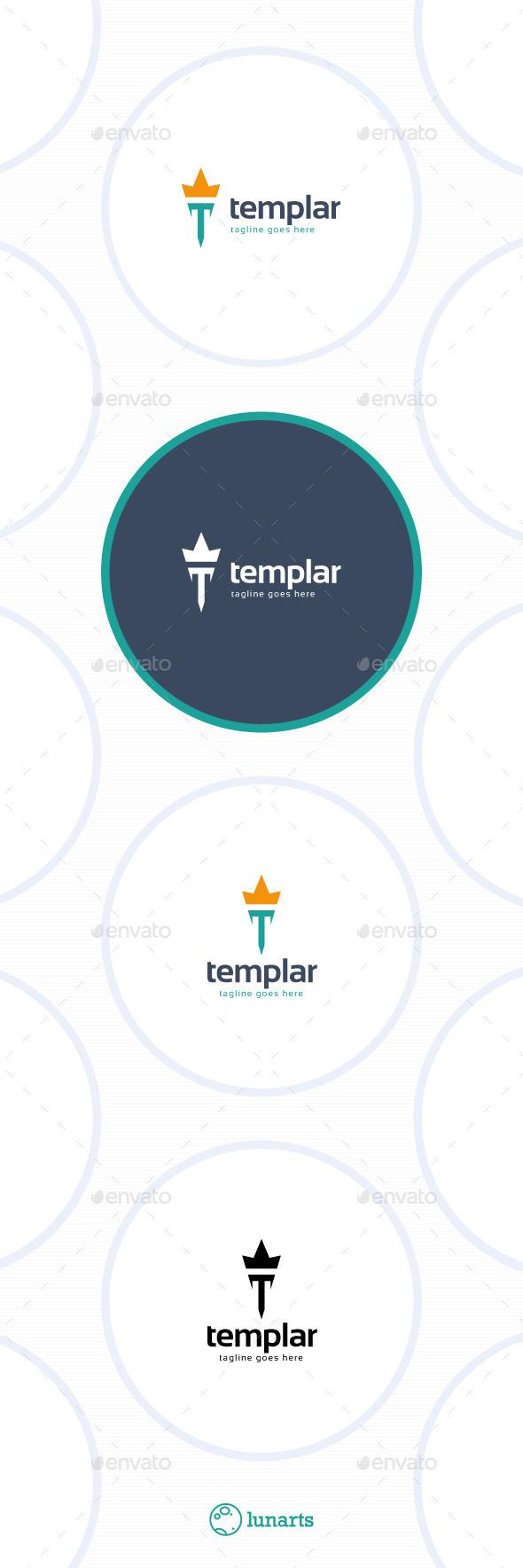 GraphicRiver Templar Logo Letter T 11533005