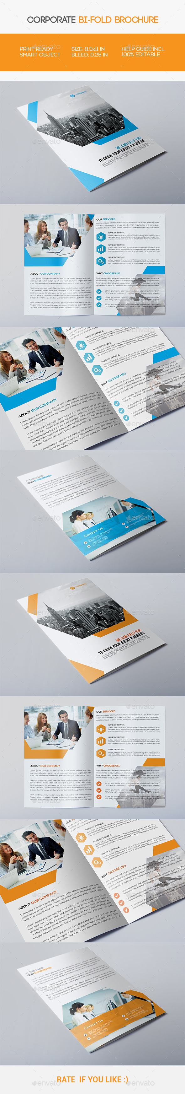 GraphicRiver Corporate Bi-fold Brochure 11533072