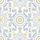 Vector Grey Blue Yellow Tribal Seamless Pattern - GraphicRiver Item for Sale