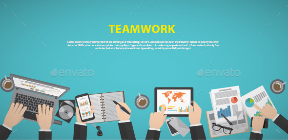 GraphicRiver Teamwork 11538383