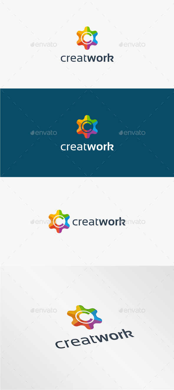 GraphicRiver Creative Work Logo Template 11538447