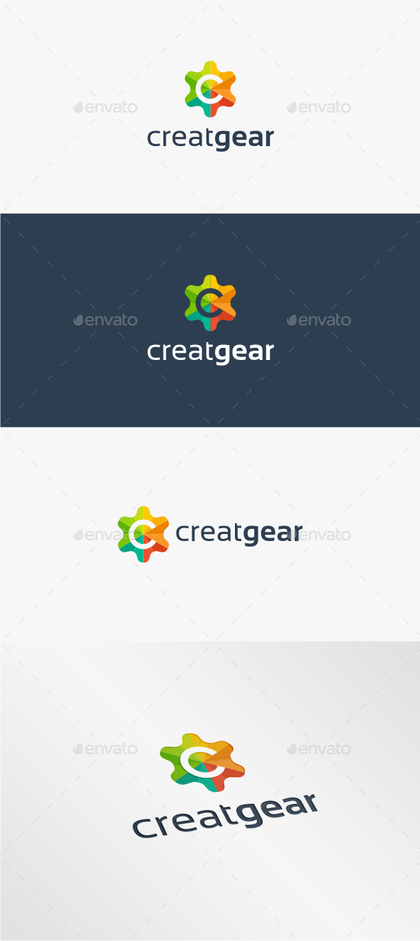 GraphicRiver Creat Gear Logo Template 11538540