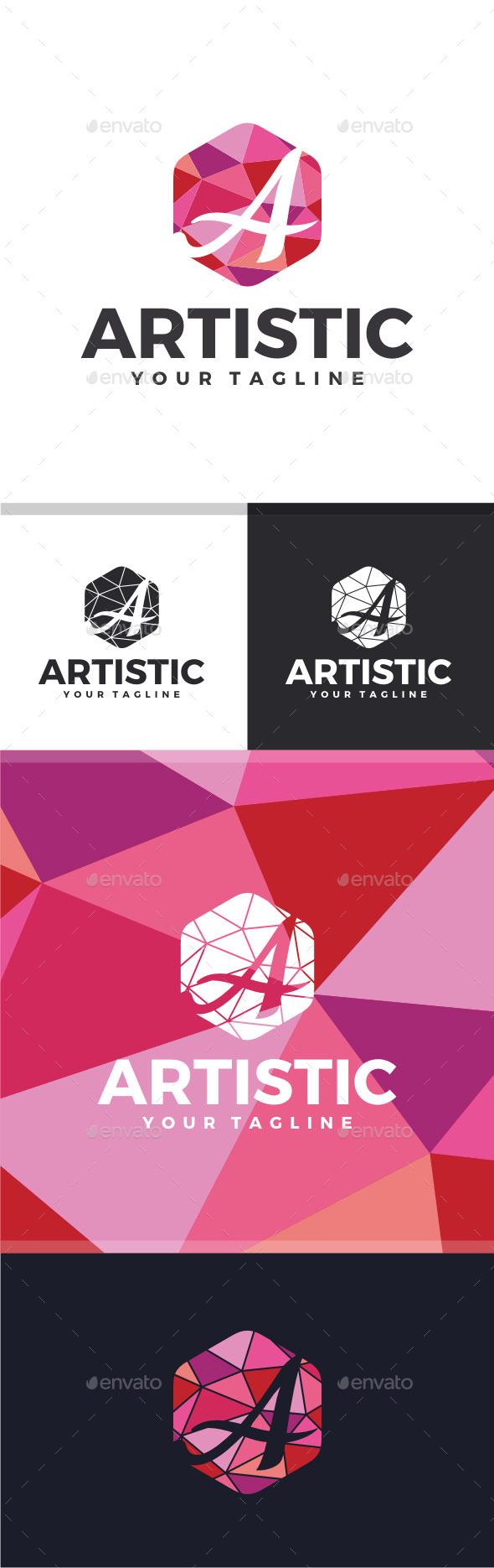 GraphicRiver Artistic Letter A Logo 11538614
