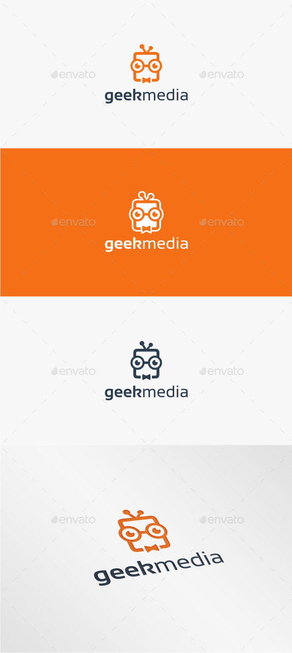 GraphicRiver Geek Media Logo Template 11538717