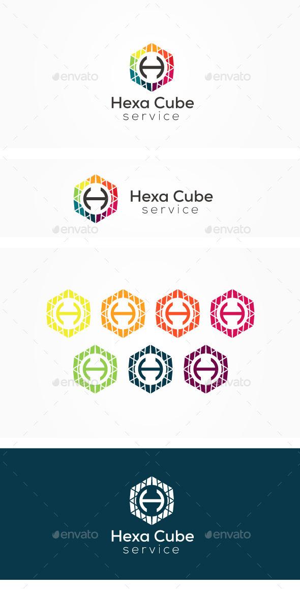 GraphicRiver Hexa H Logo 11538718