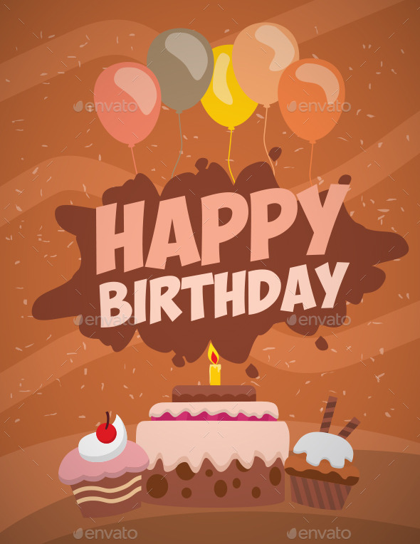 GraphicRiver Happy Birthday 11538729