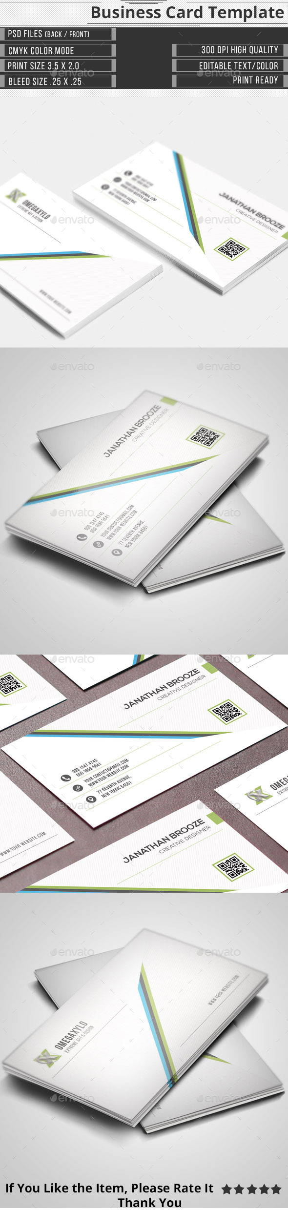 GraphicRiver Corporate Business Card 11538745