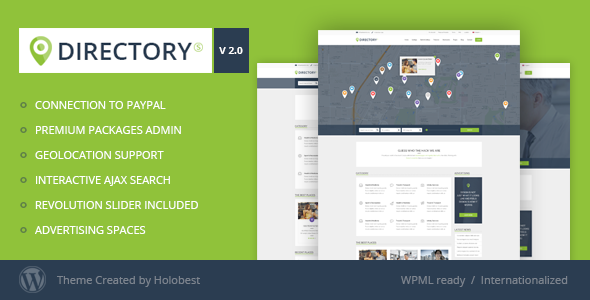 DirectoryS - Listing WordPress Theme