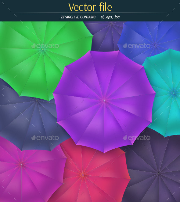 GraphicRiver Umbrella Background 11538840