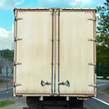 rear view on the body cargo van  - PhotoDune Item for Sale