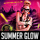 Summer Glow Party Flyer - GraphicRiver Item for Sale