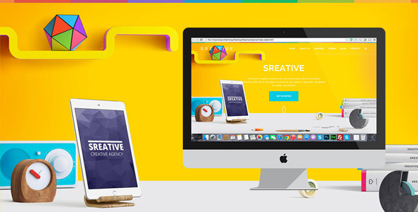 ThemeForest Sreative Digital Agency Html Template 11478307