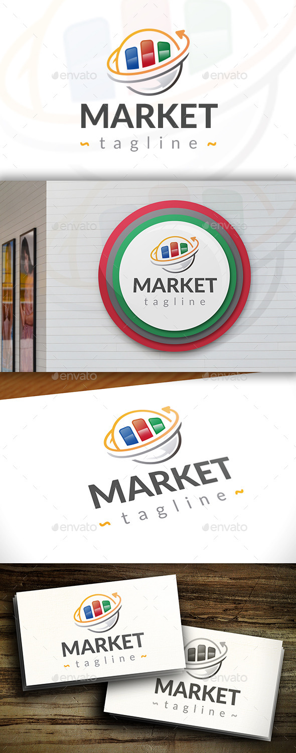 GraphicRiver Global Market Logo 11539154