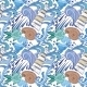 Nautical Blue Pattern  - GraphicRiver Item for Sale