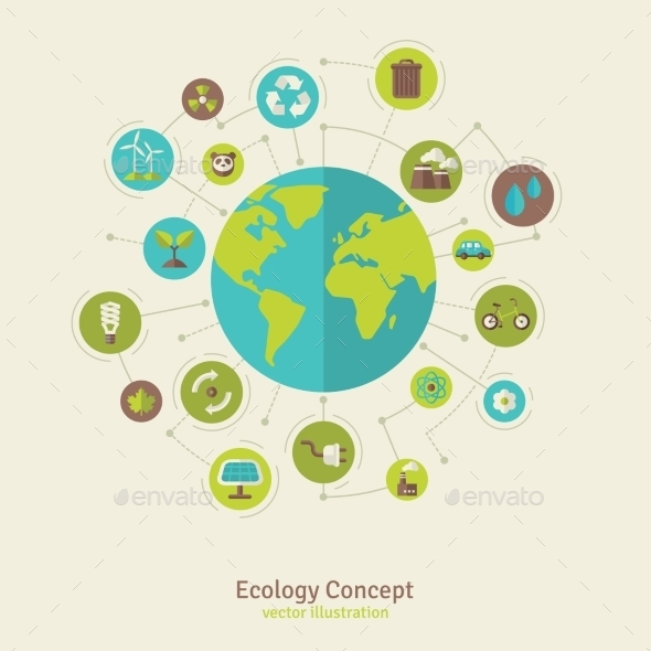 GraphicRiver Ecology Network Connection Concept Vector 11539222