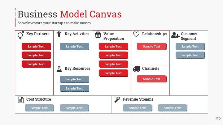 startup pitch deck leader up presentation template by sananik graphicriver. Black Bedroom Furniture Sets. Home Design Ideas