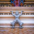 Statue of Rakshasa in buddhist temple - PhotoDune Item for Sale