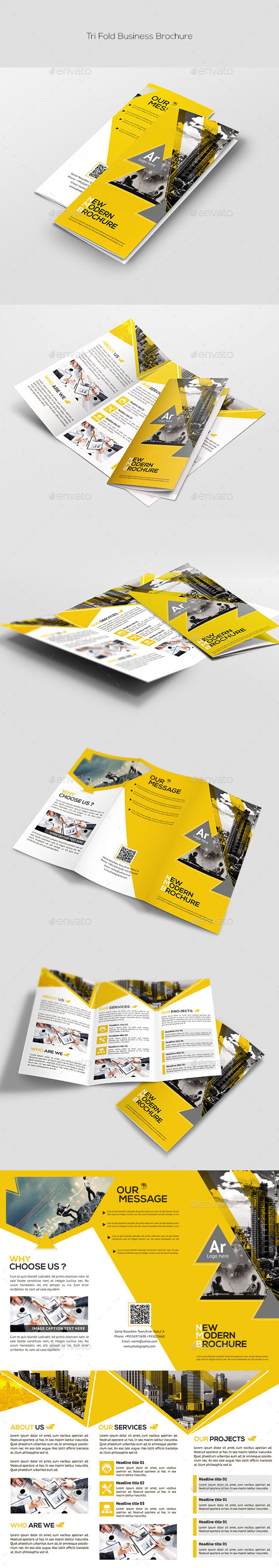GraphicRiver Tri-Fold Corporate Brochure 11540161