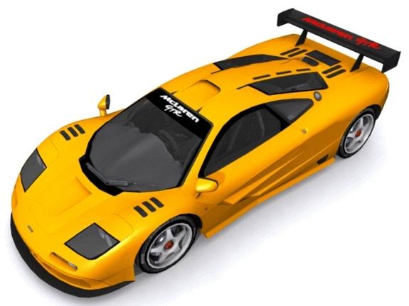 3DOcean McLaren F1 GT-R 1157219