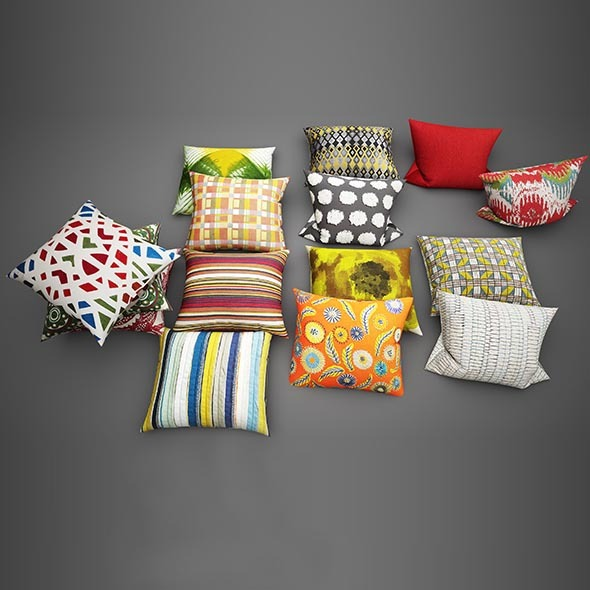3DOcean Pillows 07 11541053