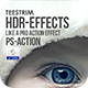 HDR Action Effects - GraphicRiver Item for Sale