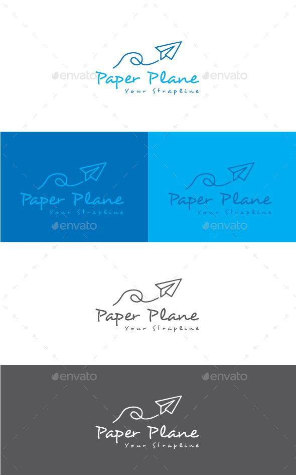 GraphicRiver Paper Plane Logo 11541267