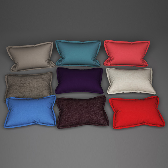 3DOcean Pillows 06 11541314