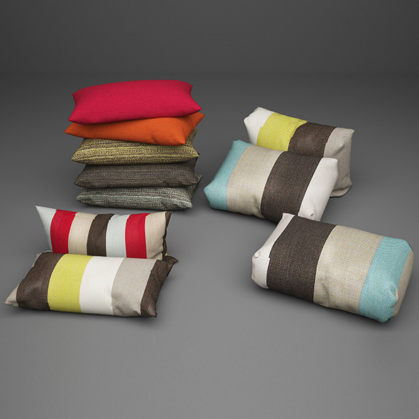 Pillows cothes - 3DOcean Item for Sale