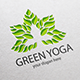 Green Yoga Logo Template - GraphicRiver Item for Sale