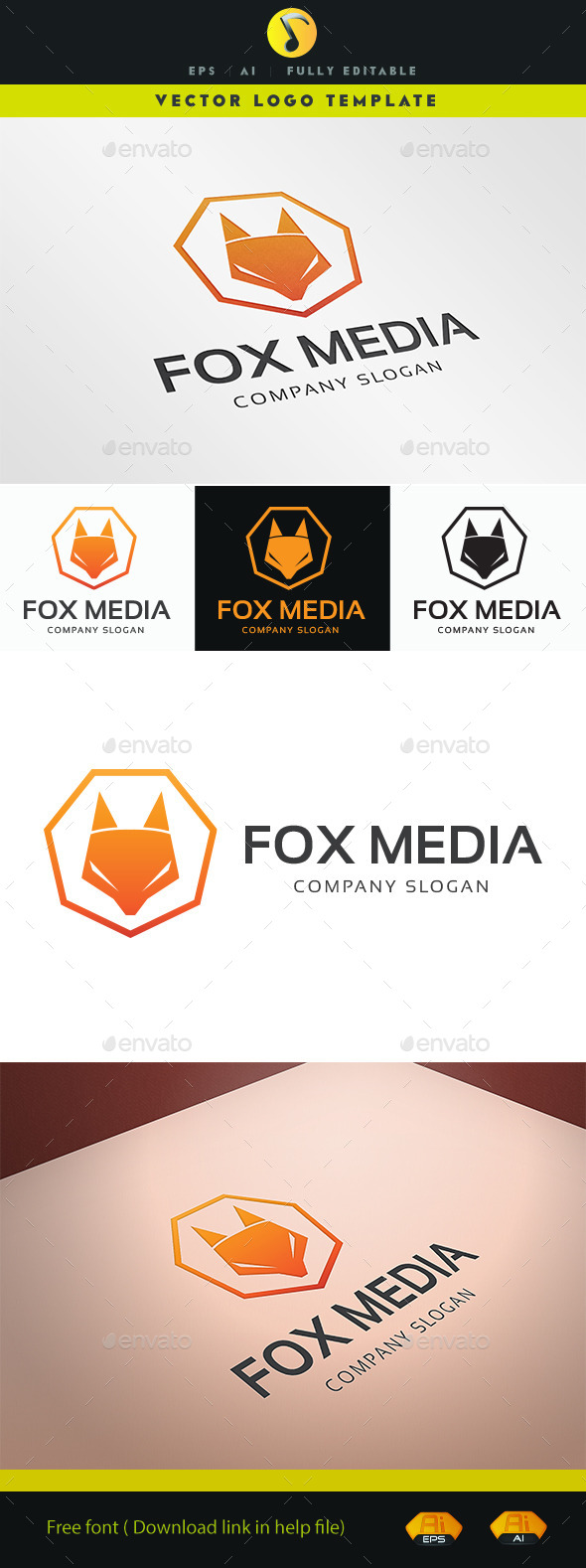 GraphicRiver Fox Media 11541823