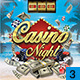 Summer Casino Flyer - GraphicRiver Item for Sale