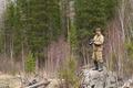 Photographer near a geyser lake - PhotoDune Item for Sale