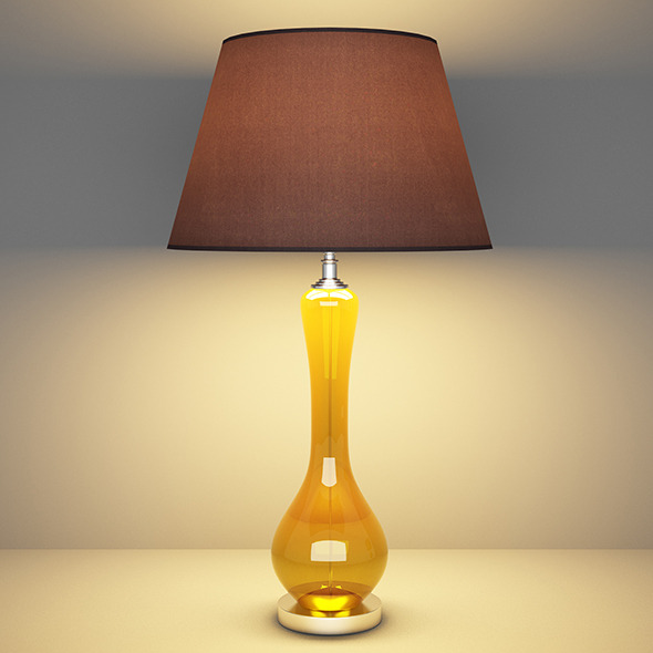 Table lamp 02 - 3DOcean Item for Sale