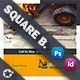 Construction Tri-Fold Square Brochure Templates - GraphicRiver Item for Sale