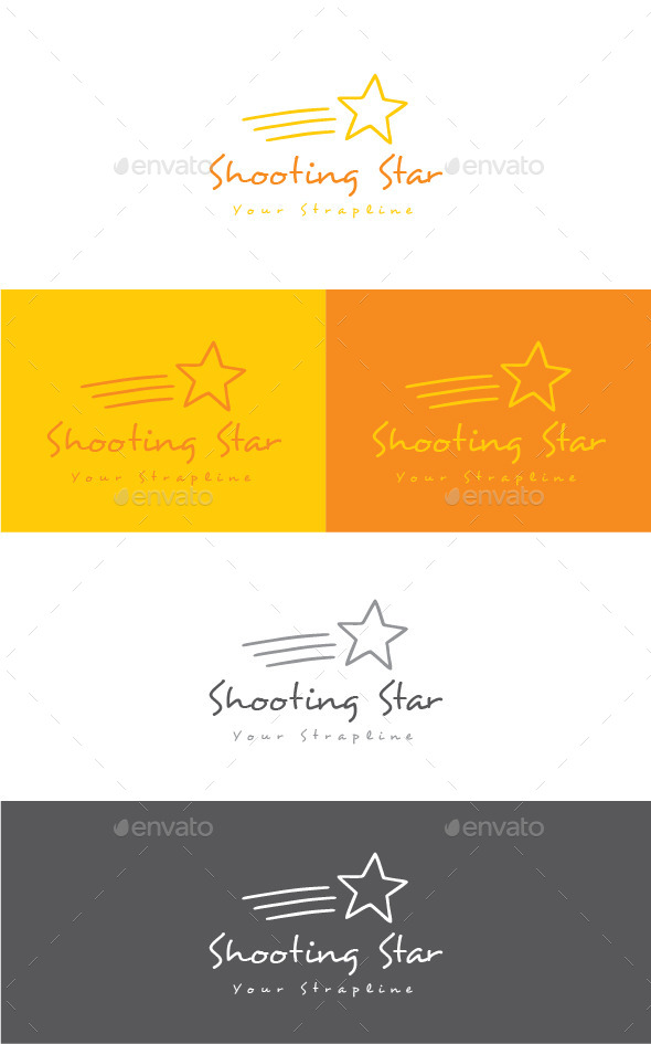 GraphicRiver Shooting Star Logo 11542566