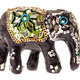 Decorated wooden elephant figurine - PhotoDune Item for Sale