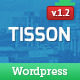 Tisson WordPress Theme - ThemeForest Item for Sale