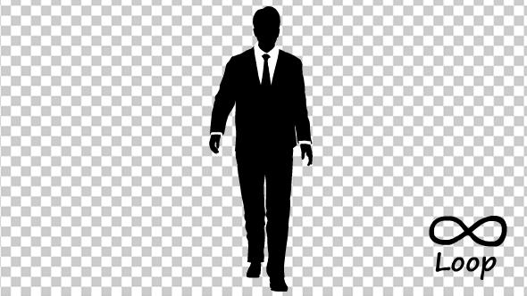 Businessman Walk Cycle