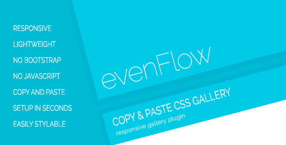 CodeCanyon evenFlow Responsive Image Gallery 11543233