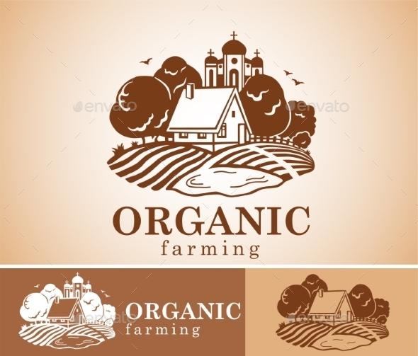 GraphicRiver Organic Farming Design Element 11543304