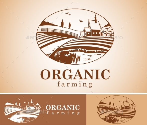 GraphicRiver Organic Farming Design Element 11543307