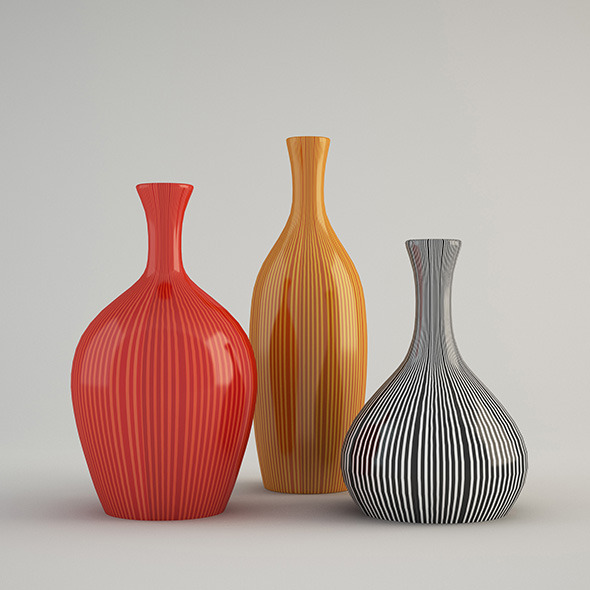3DOcean Color vase 11543357