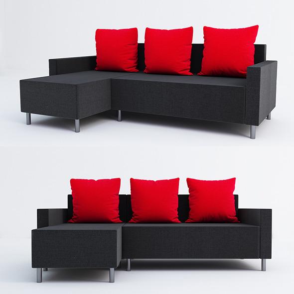 Lugnvik ikea - 3DOcean Item for Sale