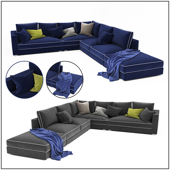 3DOcean Sofa colletion 07 11544915
