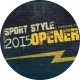 Sport Style Opener - VideoHive Item for Sale