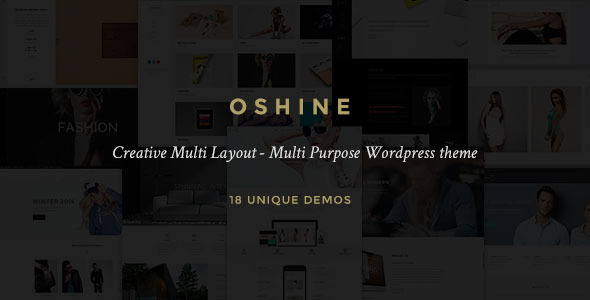 Oshine - Creative Responsive Multi-Purpose Theme