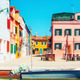 Colorful buildings in Burano, Italy. - PhotoDune Item for Sale