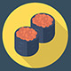 Sushi Roll Pack of Icons
